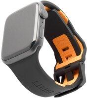 Ремешок UAG для Apple Watch 44/42 Civilian Black/Orange