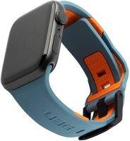 Ремешок UAG для Apple Watch 44/42 Civilia, Slate/Orange