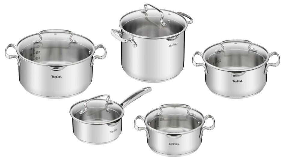 Набор посуды Tefal Duetto Plus 10 предметов (G719SA74) фото