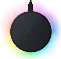 Беспроводное зарядное устройство Razer Chroma RGB Charging Pad 10W Black (RC21-01600100-R371)