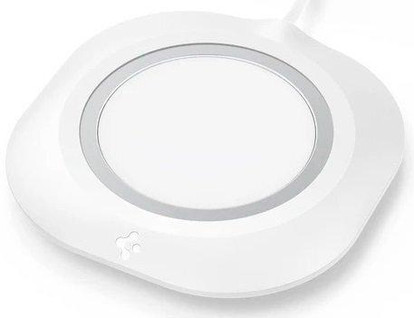 Держатель Spigen Mag Fit для MagSafe Charger Pad White фото 1