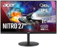 """Монитор 27"""" ACER Nitro XV272UXbmiipruzx (UM.HX2EE.X04)"""