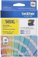Картридж струйный Brother MFC-J2310 XL yellow (LC565XLY)