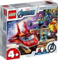 Конструктор LEGO Marvel Железный Человек против Таноса 76170