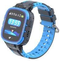 Детские GPS часы-телефон GOGPS ME K27 Синие
