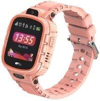 Детские GPS часы-телефон GOGPS ME K27 Розовые