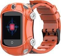 Детские GPS часы-телефон GOGPS ME X01 Оранжевые