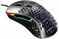 Ігрова мишка Xtrfy M4 RGB USB GLOSSY GRAY (XG-M4-RGB-GLOSSY)