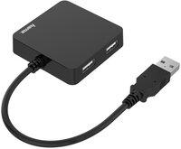 USB-хаб НАМА 4 Ports USB 2.0 Black (00200121)