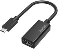 Переходник НАМА USB-C to HDMI Ultra HD 4K Black (00200315)