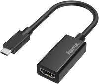 Переходник НАМА USB-C to HDMI Ultra HD 4K Black (00200315)