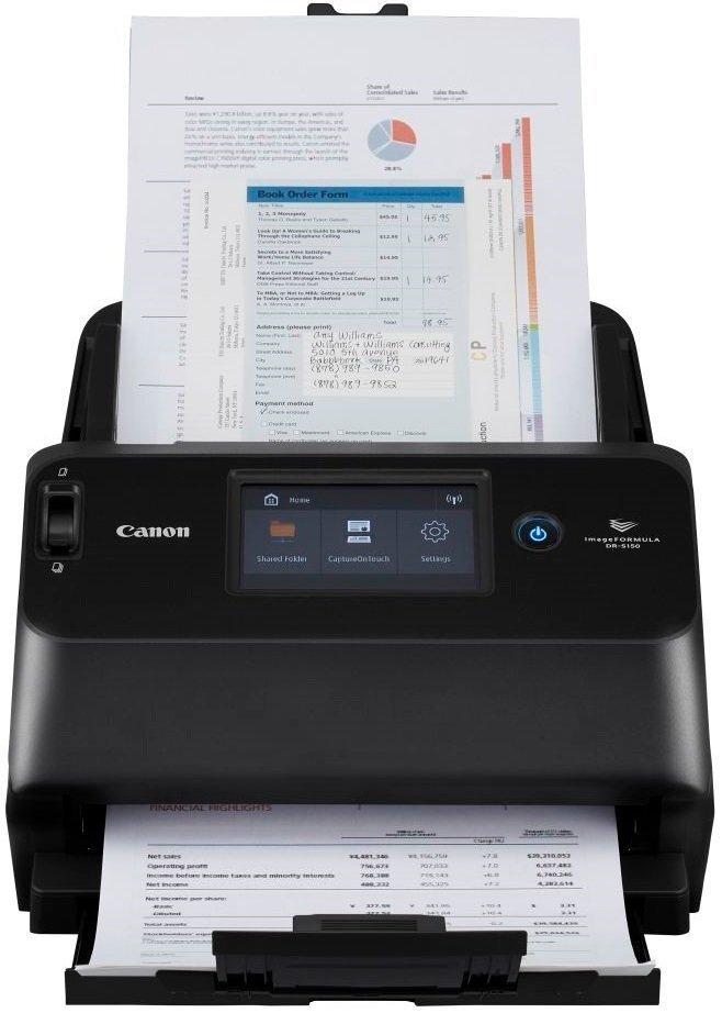 Документ-сканер А4 Canon DR-S130 (4812C001)фото