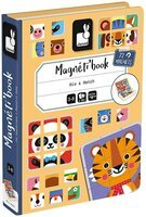 Магнитная книга Janod Микс животных J02587