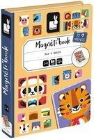 Магнітна книга Janod Мікс тварин J02587