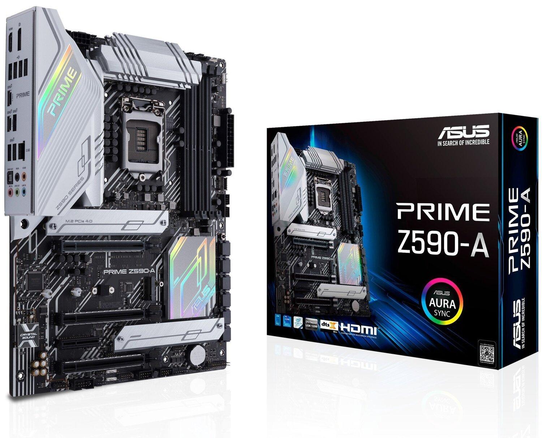 Матерінcкая ASUS PRIME_Z590-A s1200 Z590 4xDDR4 M.2 DP-HDMI ATXфото