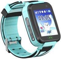 Детские телефон-часы с GPS трекером GOGPS К07 синий