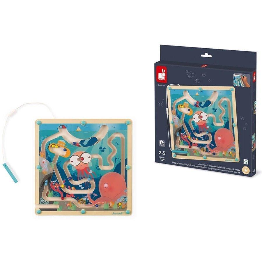 Игра магнитный лабиринт Janod Океан J05312 фото