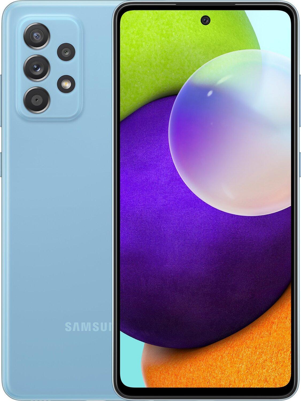 Смартфон Samsung Galaxy A52 4/128Gb Blue фото 1