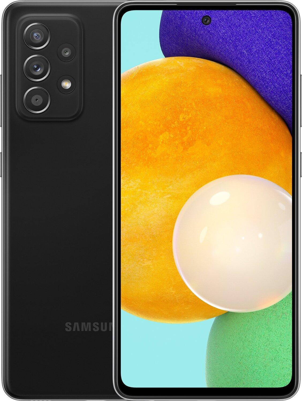 Смартфон Samsung Galaxy A52 8/256Gb Black фото