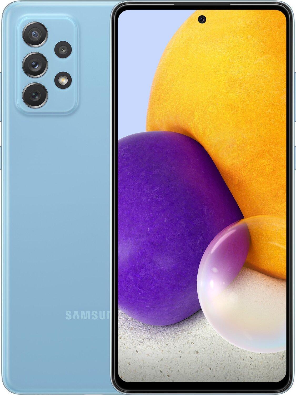 Смартфон Samsung Galaxy A72 6/128Gb Blue фото 1