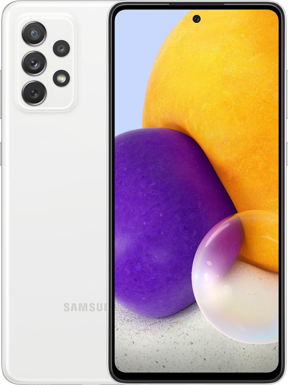 Смартфон Samsung Galaxy A72 6/128Gb White фото