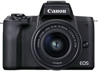 Фотоаппарат CANON EOS M50 Mark II + 15-45 мм f/3.5-6.3 IS STM + SB130 + 16GB SD(4728C058)