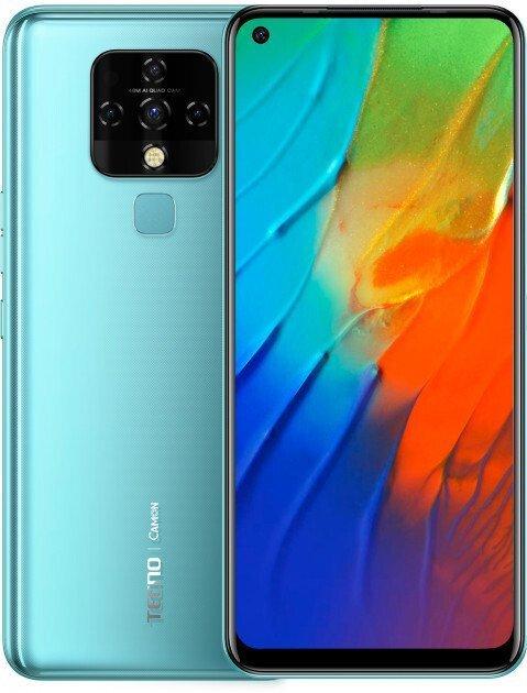 Смартфон TECNO Camon 16 SE (CE7j) 6/128Gb DS Purist Blue фото 1