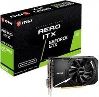 Відеокарта MSI GeForce GTX1650 4GB DDR6 AERO ITX V1 (GTX_1650_D6_AERO_ITX_V1)