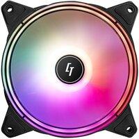 Корпусний вентилятор CHIEFTEC Chieftronic NOVA ARGB fan, 120мм, 1600об/хв, 4pin PWM + 3pin ARGB, 16dBa, Single pack w/o HUB