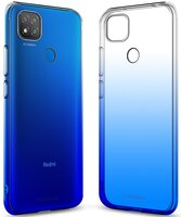 Чехол MakeFuture для Xiaomi Redmi 9C Gradient TPU Blue (MCG-XR9CBL)