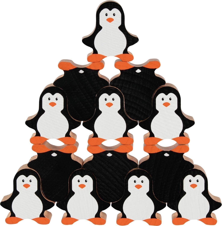Развивающая игра-балансир goki Пингвины 58683G фото 1