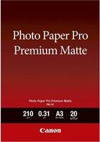 Фотобумага CANON Photo Paper Premium Matte A3 PM-101, 20л. (8657B006)