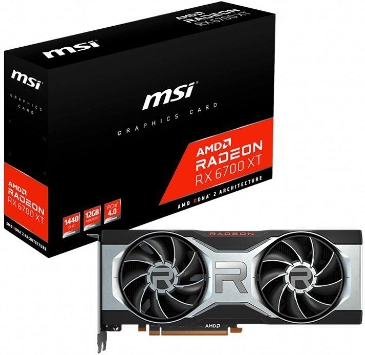 Відеокарта MSI Radeon RX 6700 XT 12GB DDR6 (RADEON_RX_6700_XT_12G)фото1
