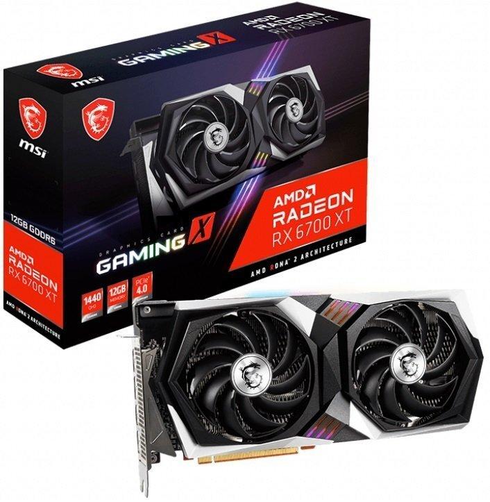 Відеокарта MSI Radeon RX 6700 XT 12GB DDR6 GAMING X (RX_6700_XT_GAMING_X12G)фото1