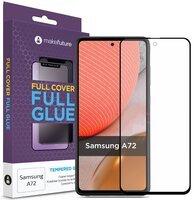 Защитное стекло MakeFuture для Galaxy A72 Full Cover Full Glue (MGF-SA72)