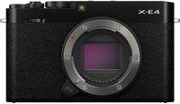Фотоаппарат FUJIFILM X-E4 Body Black (16673811)