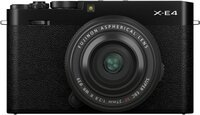 Фотоаппарат FUJIFILM X-E4 + XF 27mm f/2.8 R WR Black (16673885)