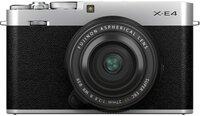 Фотоаппарат FUJIFILM X-E4 + XF 27mm f/2.8 R WR Silver (16673938)