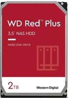 """Жесткий диск внутренний WD 3.5"""" SATA 3.0 2TB 5400 128MB Red Plus NAS (WD20EFZX)"""
