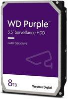 """Жорсткий диск внутрішній WD 3.5"""" SATA 3.0 8TB 7200 256MB Purple Surveillance (WD84PURZ)"""