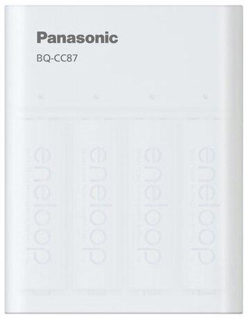 Зарядное устройство Panasonic USB in/out с функцией Power Bank+4AA 1900 mAh (K-KJ87MCC40USB)