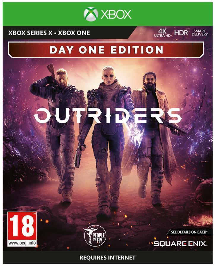 Игра Outriders Day One Edition (Xbox Series X) фото 1