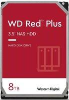 """Жесткий диск внутренний WD 3.5"""" SATA 3.0 8TB 7200 256MB Red Plus NAS (WD80EFBX)"""