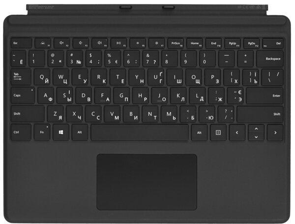 Клавиатура Microsoft Surface Pro X Signature Type Cover Black (QJW-00007)