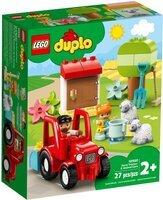 Конструктор LEGO DUPLO Сельскохозяйственный трактор и уход за животными 10950