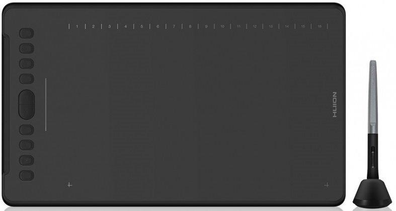 Графічний планшет Huion H1161 Blackфото