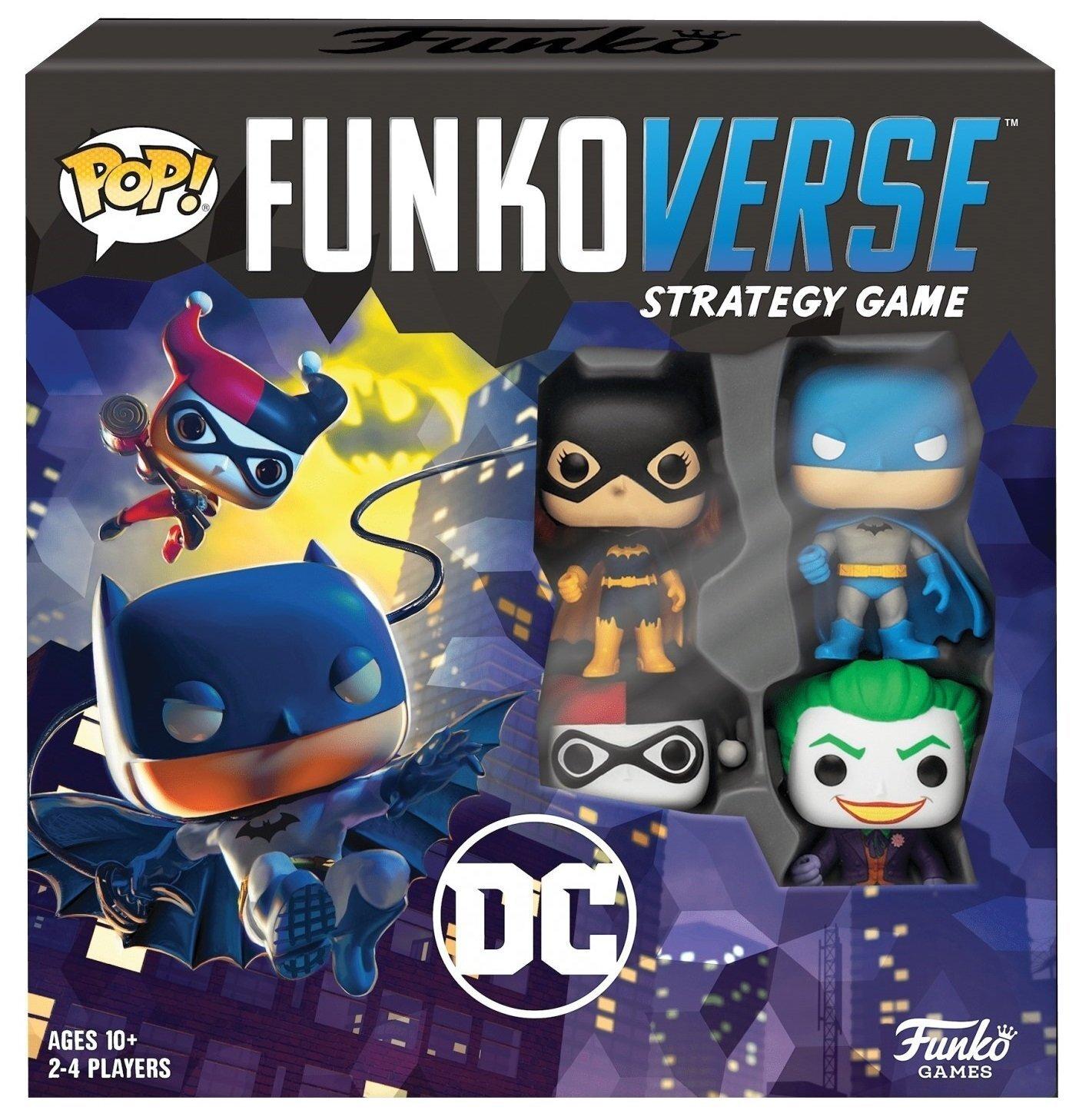 Настольная игра POP! Funkoverse: DC Comics 100 Base Set 42628 (FUN25503) фото 1