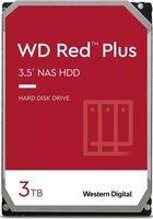 """Жесткий диск внутренний WD 3.5"""" SATA 3.0 3TB 5400 64MB Red Plus NAS (WD30EFZX)"""