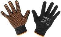 Перчатки NEO рабочие, хлопок и полиэстер, пунктир, размер 8 (97-620-8)