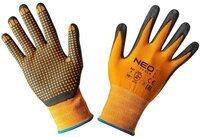 Перчатки NEO рабочие, нейлон с нитриловыми точками, размер 10 (97-621-10)